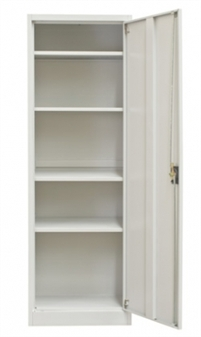 Slimline Single-Door Stationery Cupboard