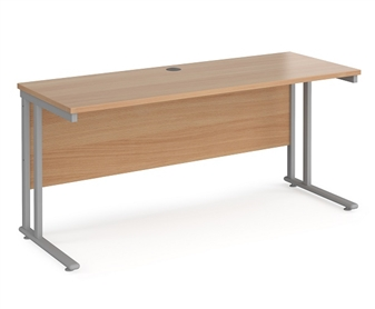 600mm Deep Desk - Beech
