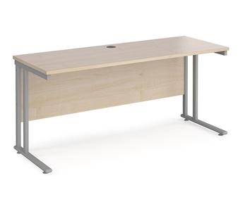 600mm Deep Desk - Maple