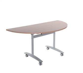 Fliptop Table - Semi-Circular