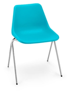 Hille Polyside Chair - Blue