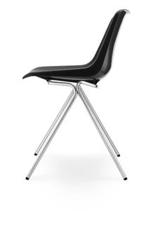 Hille Polyside Chair - Ebony