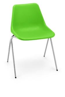 Hille Polyside Chair - Acid