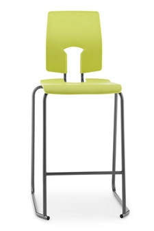 Hille SE Stool With Back