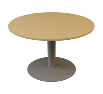 1200mm Diameter Circular Table - Trumpet Base