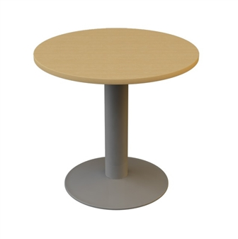 800mm Diameter Circular Table - Trumpet Base