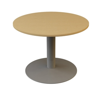 1000mm Diameter Circular Table - Trumpet Base