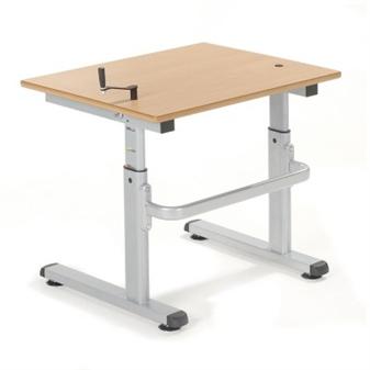 Single 700mm Height Adjustable Desk