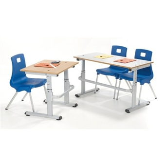 Budget Height Adjustable Table