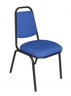 Square Back Banqueting Chair - Vinyl