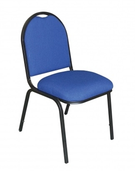 Round Back Banqueting Chair - Vinyl
