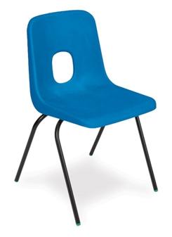 Hille E-Series Fire Retardant Chair - Purple