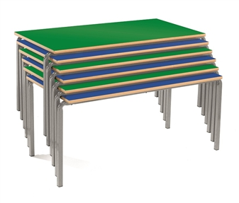 Slide Stacking Classroom Table