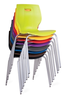 Poly Four Legged Chair - 8 Stack