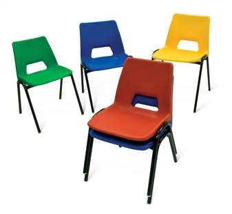 Poly Stacker Chair - Group