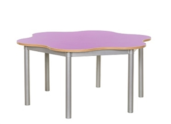 6 Leaf Petal Table Lilac