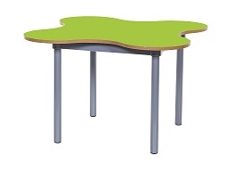 4 Leaf Petal Table Lime