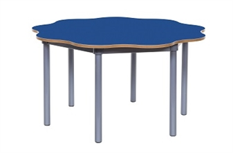 9 Leaf Petal Table Blue