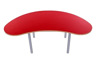 Kidney Bean Table Red