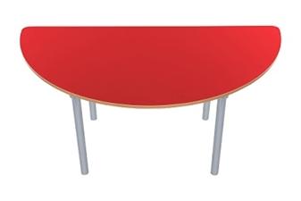 Semi Circular Red
