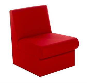 BRS Modular Box Reception Sofa Seat - Vinyl