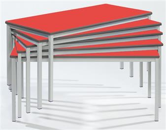 1200 x 600 Fully Welded Spiral Stacking Table