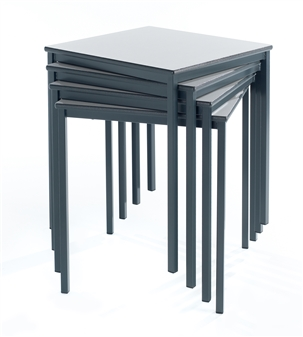 Fully Welded Square Stacking Classroom Tables