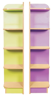 Library End Bookcase