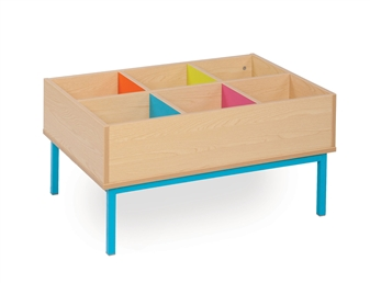 6 Bay Kinderbox With Legs