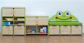 Nature Frog Green Edging 3 Unit Set