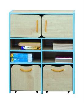 Medium Storage Blue Edging