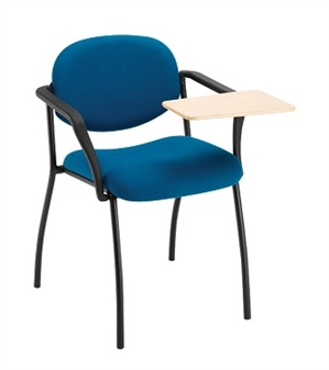 Gloucester Writing Tablet Chair With Soft PU Arms