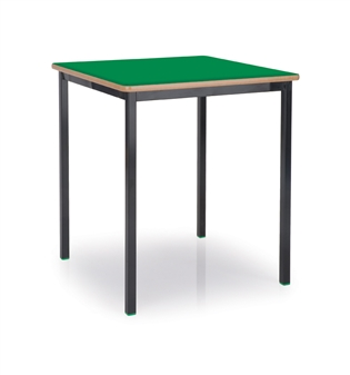 600 x 600 Black Frame Green Top