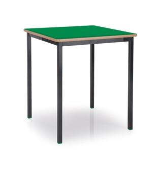 600 x 600 Black Frame Green Top