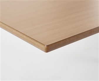 MDF Edge/Beech Top