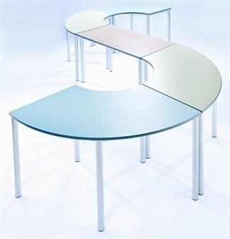 Meet Tables - Curved & Rectangular