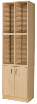 24 Space Double Height Cupboard