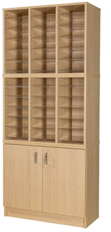 36 Space Double Height Cupboard