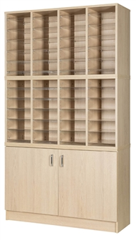 48 Space Double Height Cupboard
