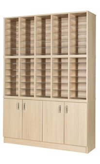 60 Space Double Height Cupboard
