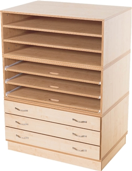 Kubbyclass Paper Storage Solution