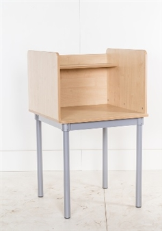 Single Study Carrel Square