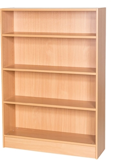 1200mm High Static Double Sided Bookcase