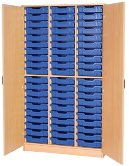 60 Tray Cupboard Triple