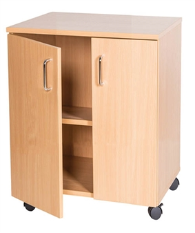 6 High Double Cupboard Unit