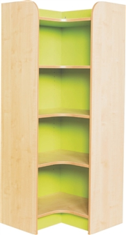 Kubbyclass Internal Corner Bookcase