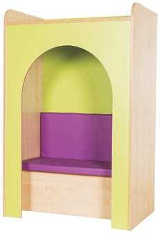 Kubbyclass Library Reading Nook Upholstered Seat & Pad