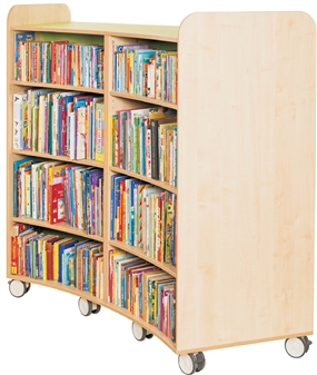 1500mm Curved Bookcase
