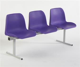 3 Seat Polyprop Beam