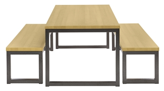 Premium Solid Wood Dining Sets - Oak